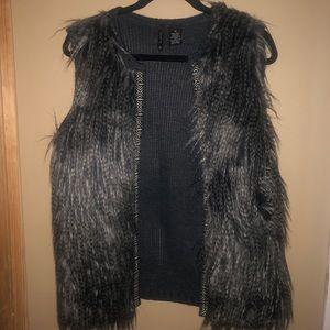New Directions fur vest